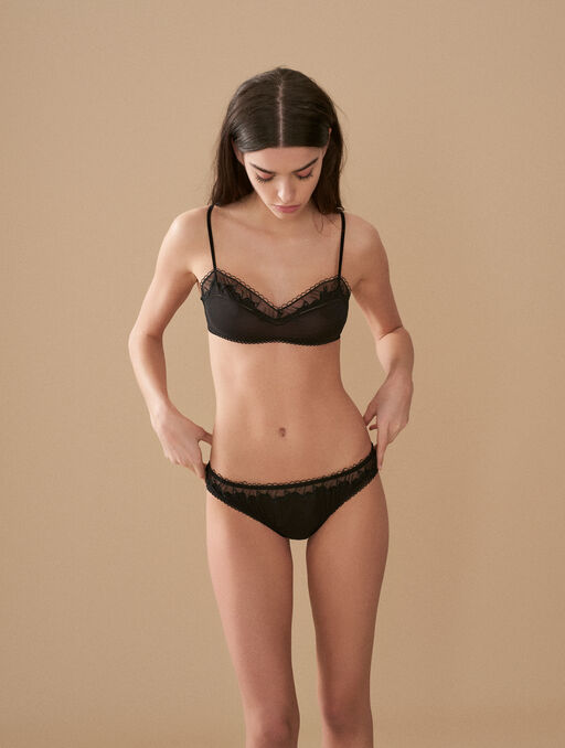 Bikini brief black.