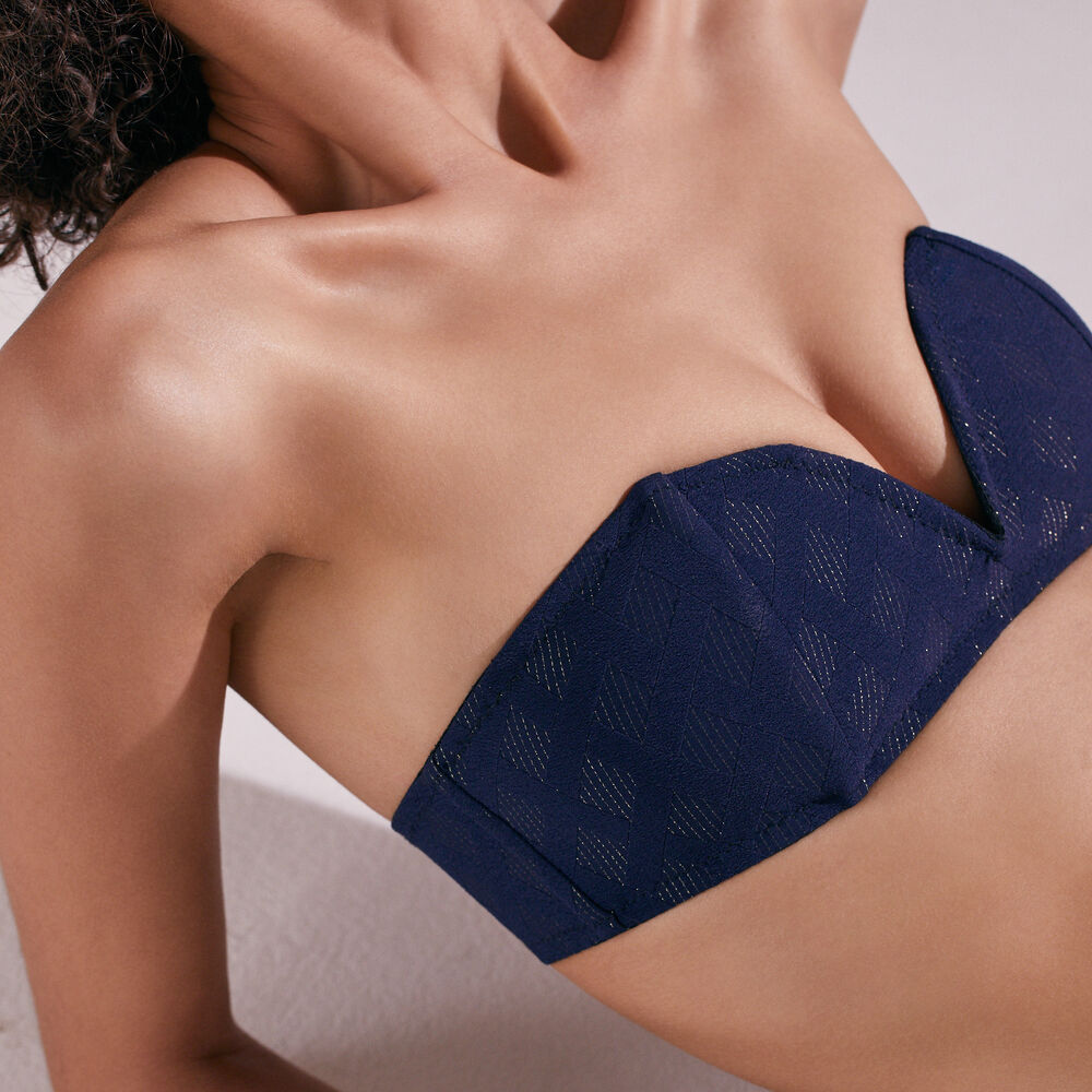Soft bra livystone midnight navy.