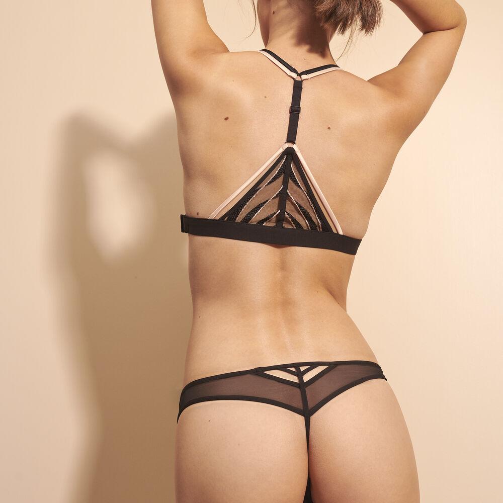 String black.