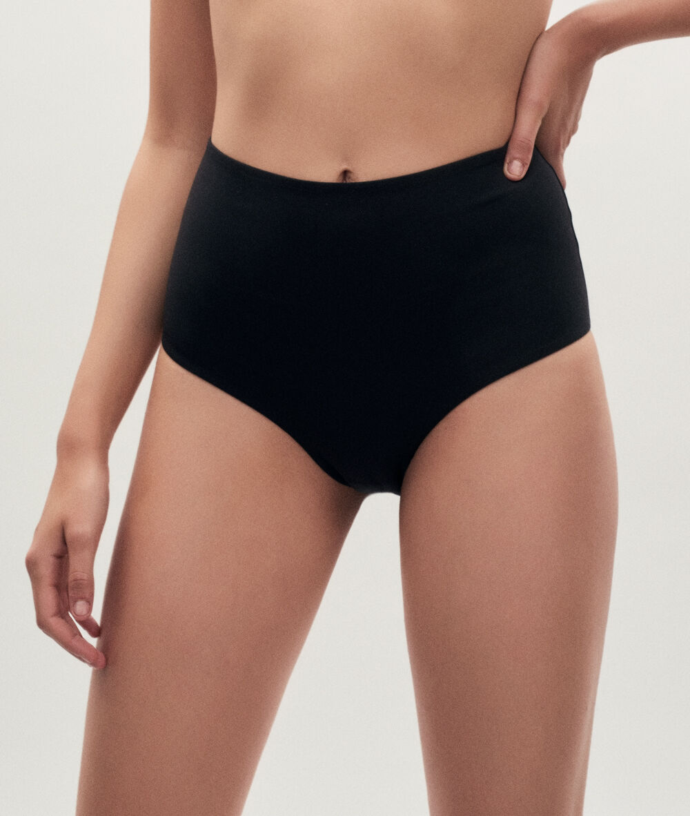 HIGH WAIST BRIEF/TANGA;${refinementColor}