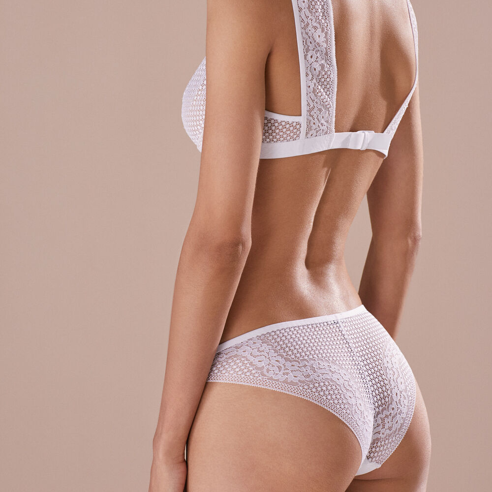 Brief white.