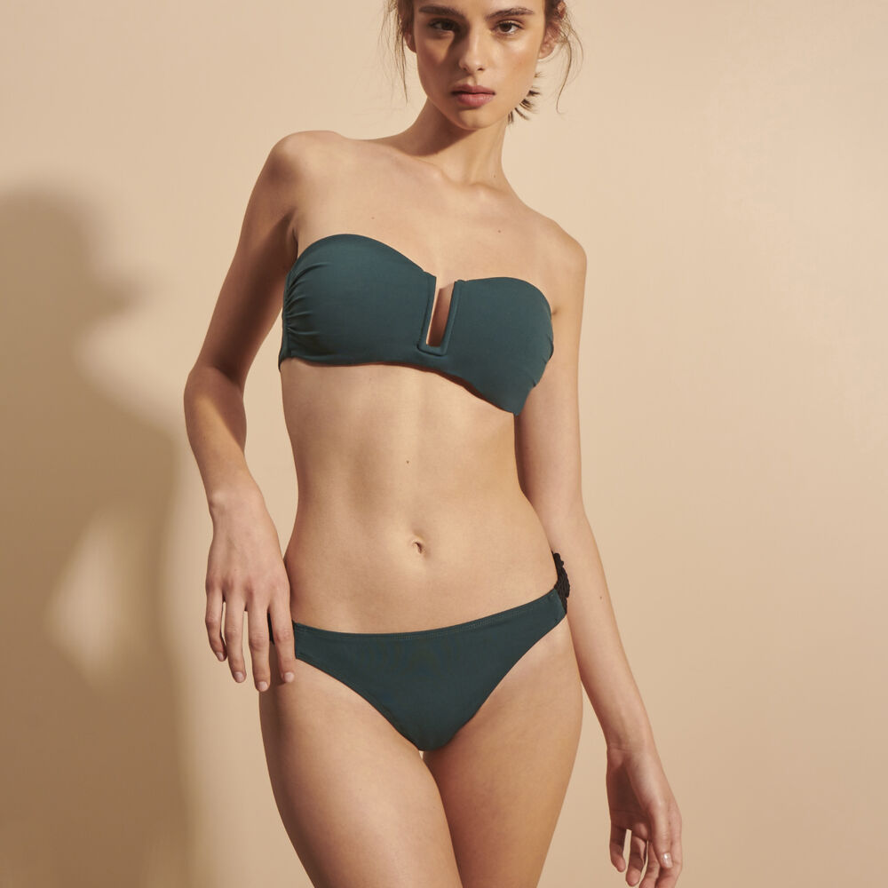 Soft bra livystone deep green.