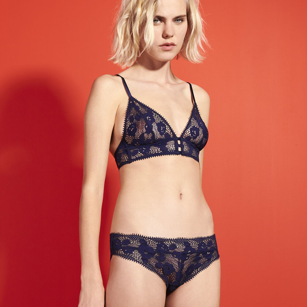 Soft bra midnight navy.